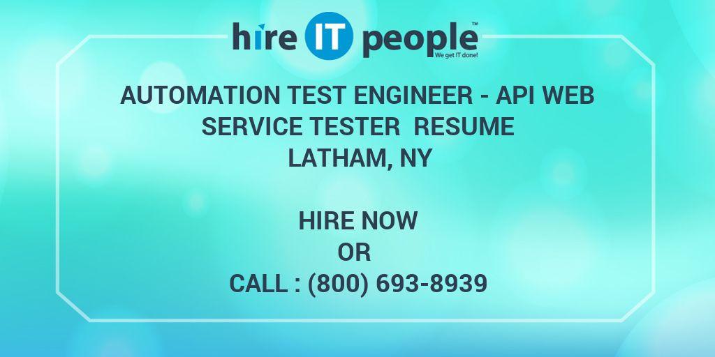 automation test engineer