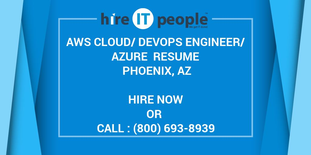 aws cloud  devops engineer  azure resume phoenix  az