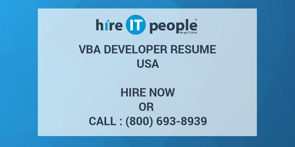 Title For Resume Pdf Resume Function Vba  Contegricom What Should Be On Your Resume Pdf with Top Resume Writers Excel Vba Developer Resume Hire It People We Get It Done Sample Resume Customer Service Pdf