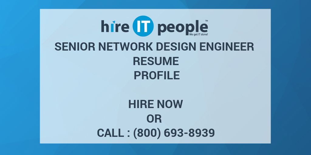 Network Design Engineer Resume. resume for james mcgarity. network ...