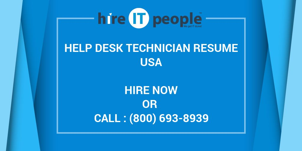 what is a help desk technician Overview employee is responsible for providing escalated end user support and software, hardware, and network assistance relies on experience and judgment as well as pre-established procedure and instructions to identify, research and resolve technical problems presented through level i, ii and iii (when possible) help desk tickets.