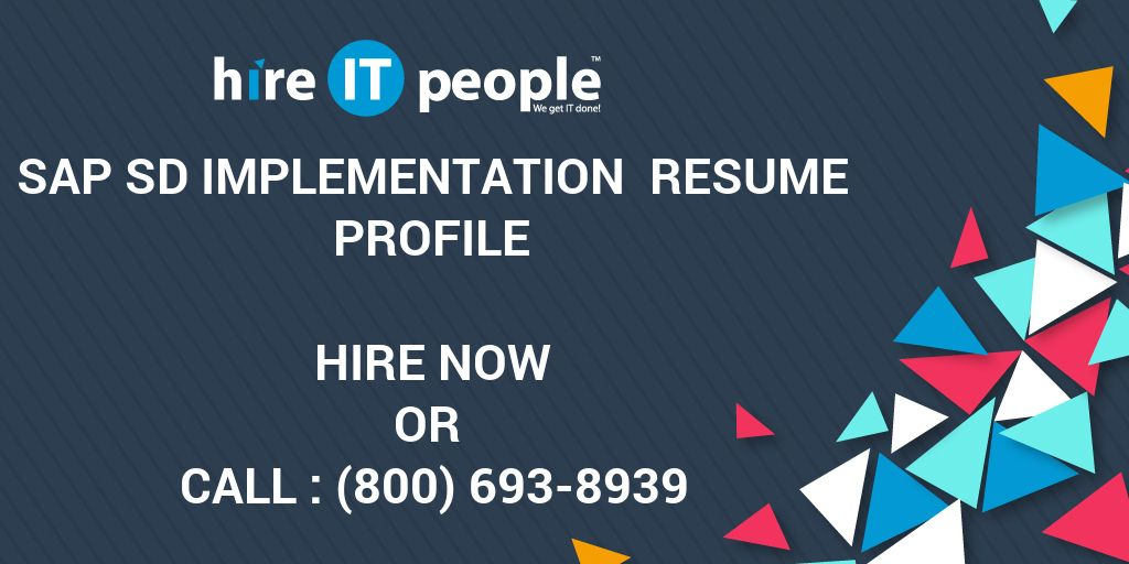 best sap sd implementation resume contemporary simple resume