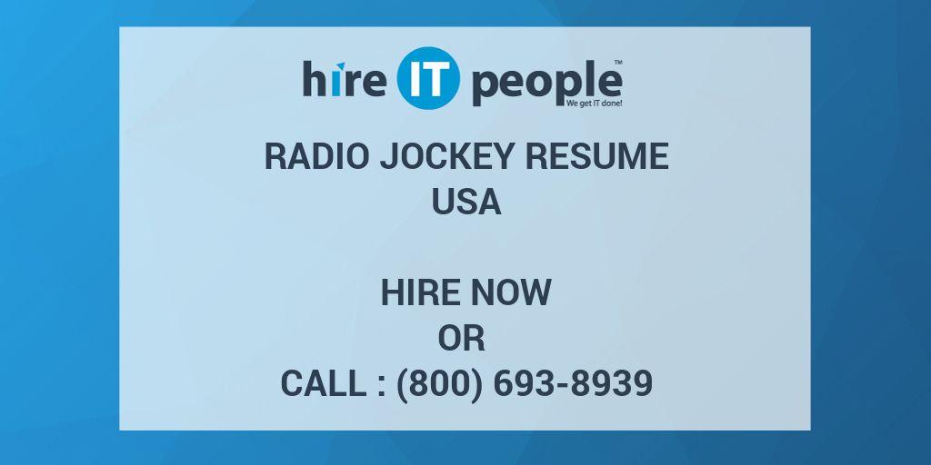 radio jockey resume radio dj resume sainde org radio dj resume