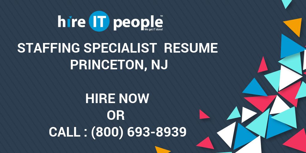 staffing specialist resumes
