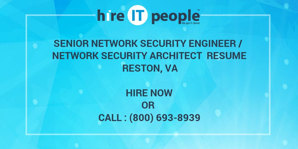 Senior Network Security Engineer / Network Security Architect Resume