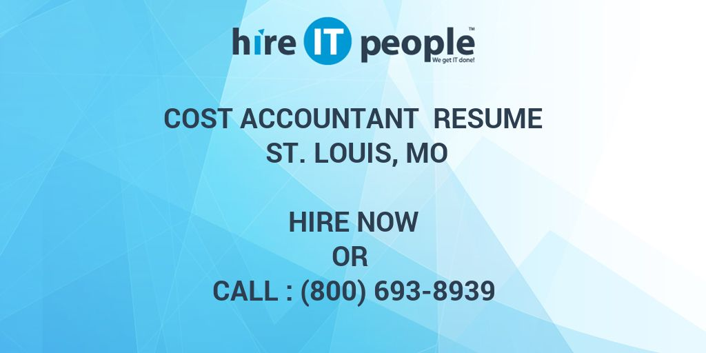 Stunning St Louis Accounting Resume Pictures - Best Resume Examples ...