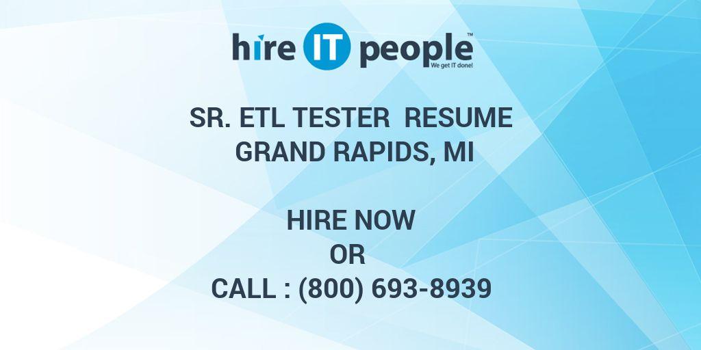 Fine Senior Etl Tester Resume Photos - Example Resume Templates ...