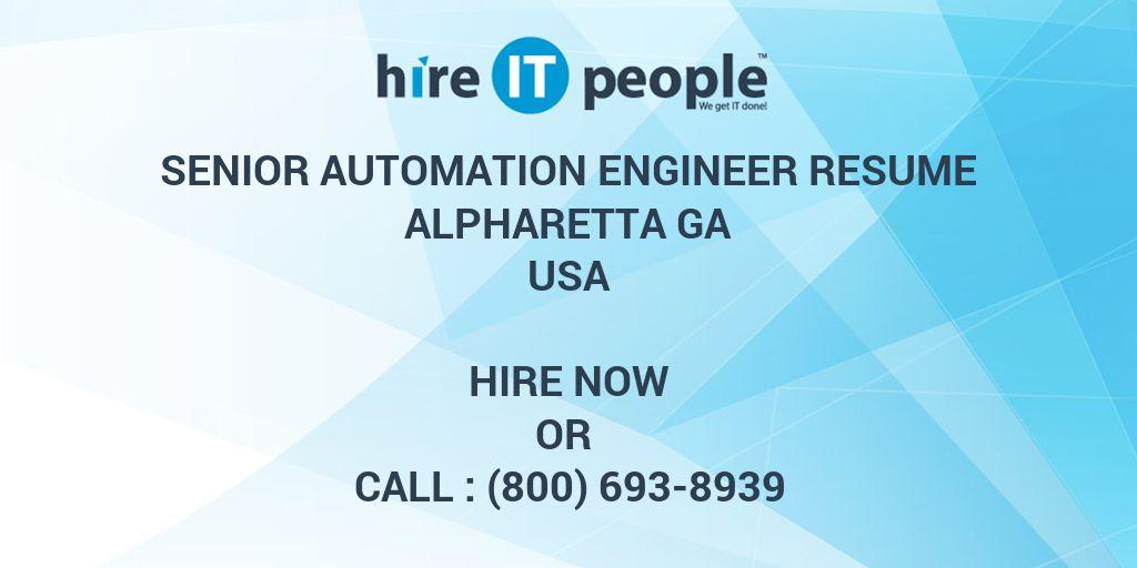 resume of automation engineer - Vaydile.euforic.co