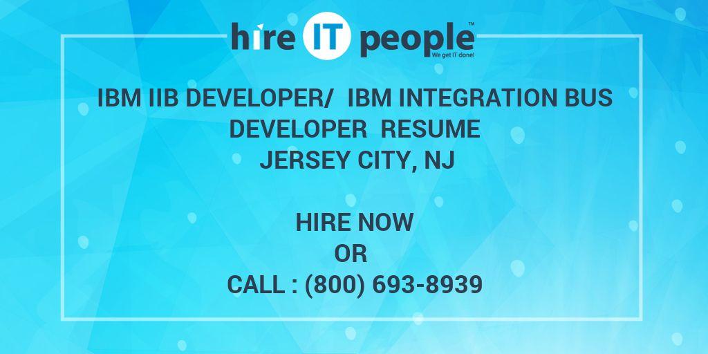 IBM IIB Developer/ IBM Integration Bus Developer Resume
