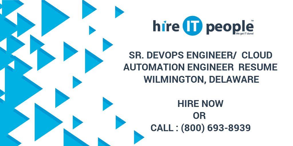 Sr  Devops Engineer/ Cloud Automation Engineer Resume