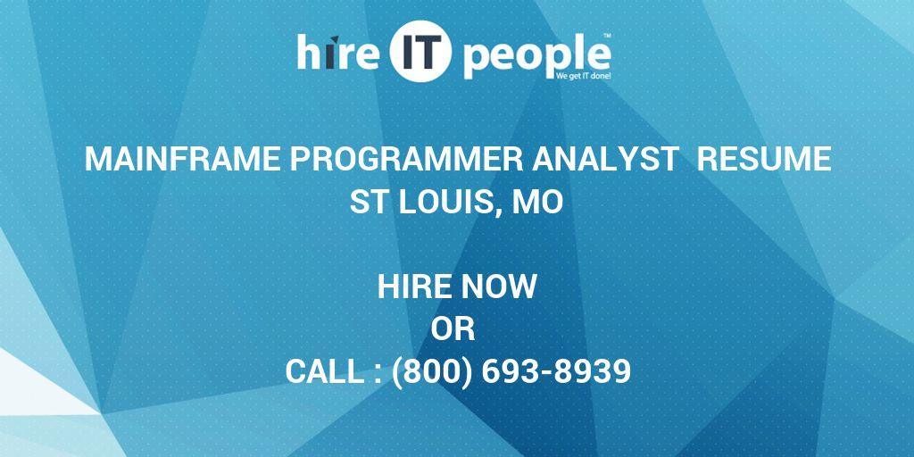 Recent Posts mainframe programmer resume Idealvistalistco